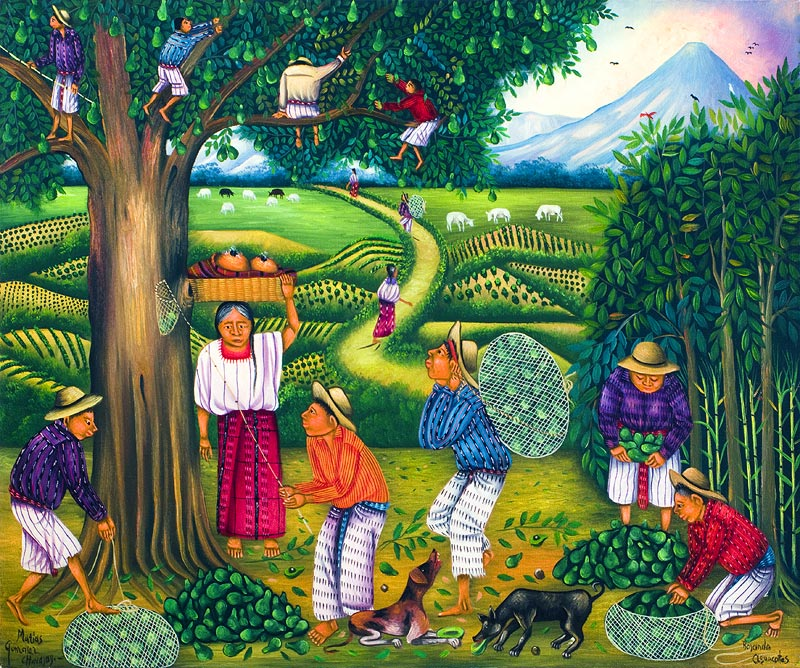 Most Famous Paintings In Guatemala