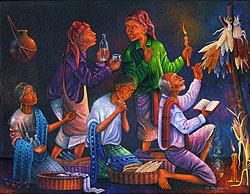 El Pan Nuestro by Pedro Rafael Gonzalez Chavajay, 1993