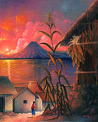 Milpas by Pedro Rafael Gonzalez Chavajay, 1994